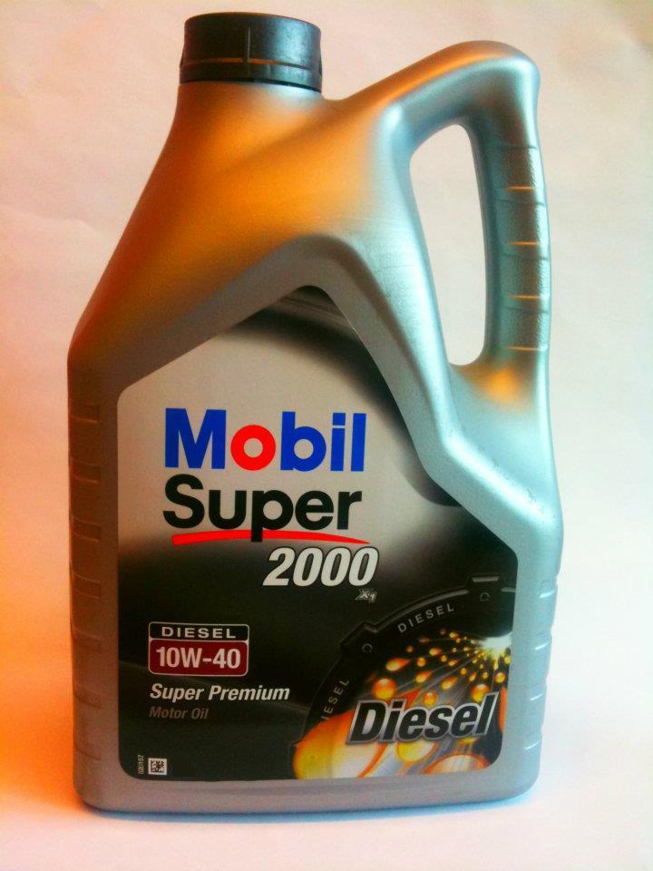 Mobil Super 2000 Diesel 10w40 4L