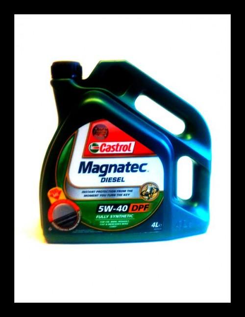 Castrol Magnatec Diesel 5W-40 4L olej
