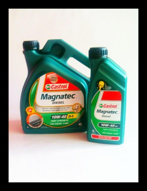 castrol magnatec diesel 10w40 4l plus 1l