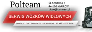polteam serwis wózków widłowych