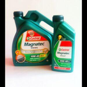 castrol magnatec diesel 10w40 4l+1